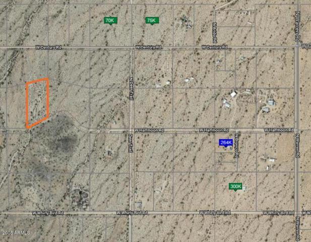 0 W Halfmoon Road, Maricopa, AZ 85139 (MLS #5810211) :: The Garcia Group