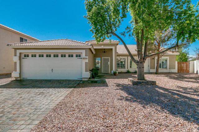 820 S Bridger Drive, Chandler, AZ 85225 (MLS #5813147) :: The W Group