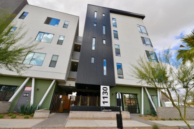 1130 N 2ND Street #201, Phoenix, AZ 85004 (MLS #5814039) :: Brett Tanner Home Selling Team