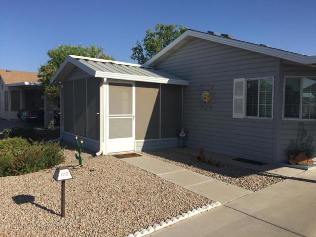 2550 S Ellsworth Road #172, Mesa, AZ 85209 (MLS #5824240) :: Keller Williams Realty Phoenix