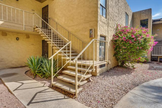 4950 N Miller Road #103, Scottsdale, AZ 85251 (MLS #5824288) :: Lux Home Group at  Keller Williams Realty Phoenix