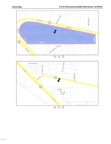 0 N Us 60 & Hwy 74 Road, Morristown, AZ 85342 (MLS #5832405) :: Conway Real Estate