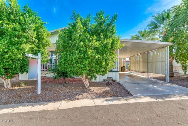 201 S Greenfield Road #334, Mesa, AZ 85206 (MLS #5841169) :: The Daniel Montez Real Estate Group
