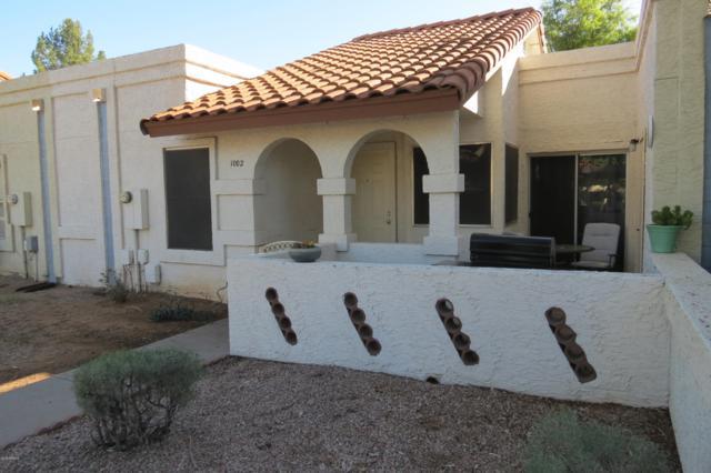 5136 E Evergreen Street #1002, Mesa, AZ 85205 (MLS #5845000) :: The Garcia Group