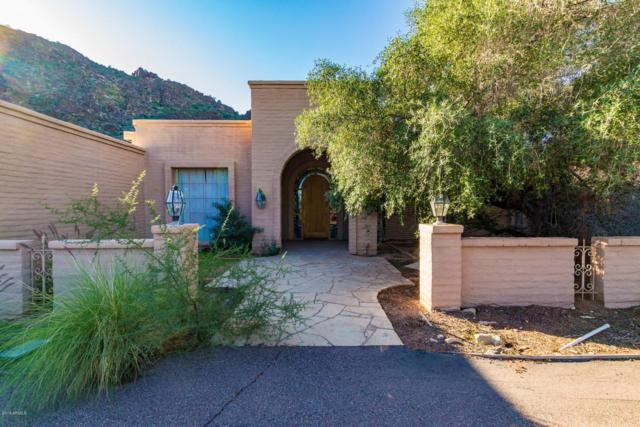 5301 E Paradise Canyon Road, Paradise Valley, AZ 85253 (MLS #5846658) :: Riddle Realty