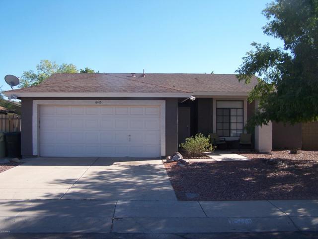 6415 W Sandra Terrace, Glendale, AZ 85306 (MLS #5856820) :: Occasio Realty