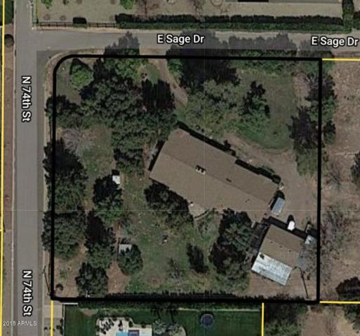 7401 E Sage Drive, Scottsdale, AZ 85250 (MLS #5857336) :: Riddle Realty Group - Keller Williams Arizona Realty