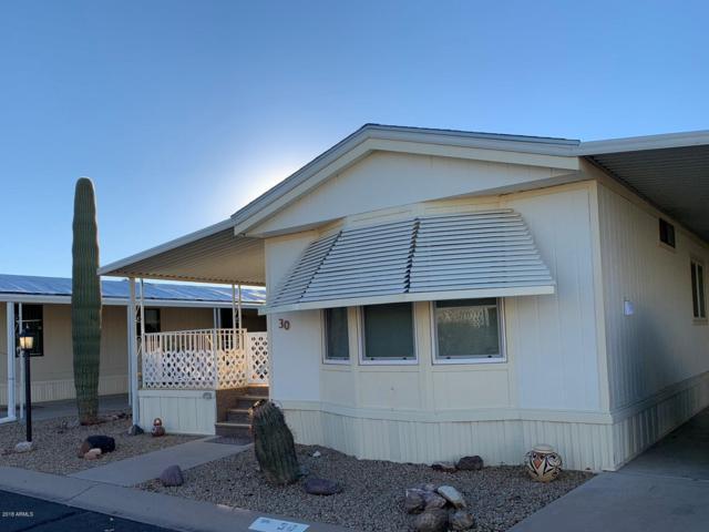 450 W Sunwest Drive #30, Casa Grande, AZ 85122 (MLS #5861462) :: The Daniel Montez Real Estate Group