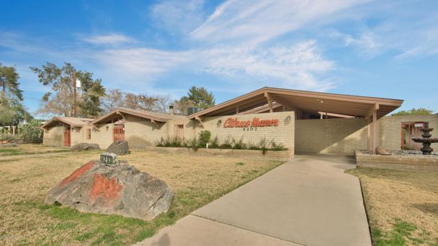 4203 N 36TH Street #2, Phoenix, AZ 85018 (MLS #5874943) :: Yost Realty Group at RE/MAX Casa Grande