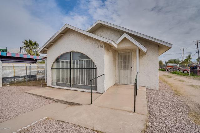 475 N Arizona Boulevard, Coolidge, AZ 85128 (MLS #5877695) :: The W Group