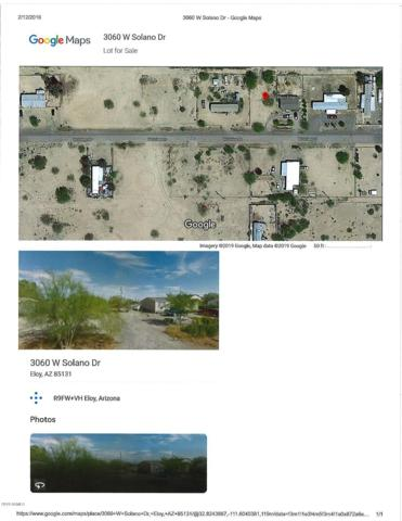 3060 W Solano Drive, Eloy, AZ 85131 (MLS #5881685) :: Yost Realty Group at RE/MAX Casa Grande