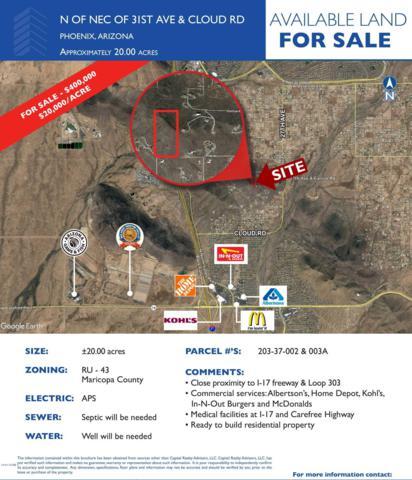 0 N 31st Avenue, Phoenix, AZ 85051 (MLS #5884972) :: Door Number 2