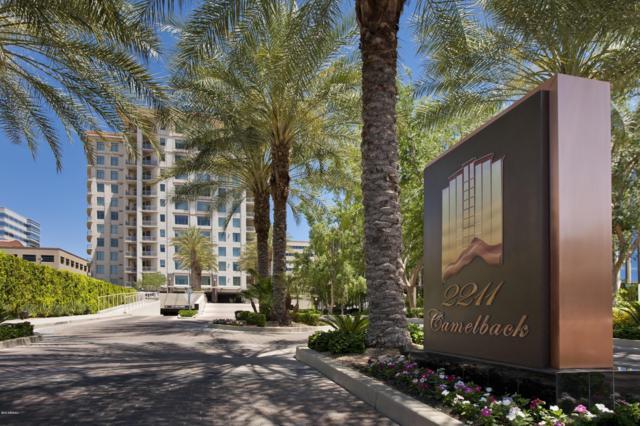 2211 E Camelback Road #701, Phoenix, AZ 85016 (MLS #5885658) :: The Wehner Group