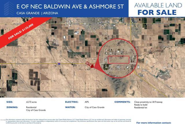 0 W Ashmoore Street, Casa Grande, AZ 85193 (MLS #5885745) :: Yost Realty Group at RE/MAX Casa Grande