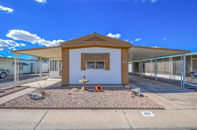 2100 N Trekell Road #157, Casa Grande, AZ 85122 (MLS #5885801) :: Yost Realty Group at RE/MAX Casa Grande