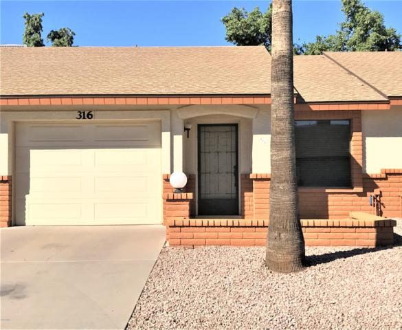 8020 E Keats Avenue #316, Mesa, AZ 85209 (MLS #5885906) :: Devor Real Estate Associates