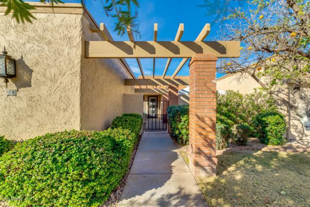 343 W Leisure World, Mesa, AZ 85206 (MLS #5886126) :: Riddle Realty