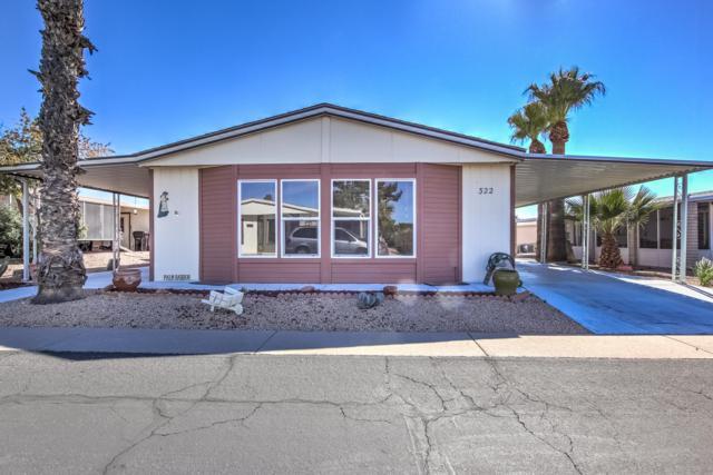6209 E Mckellips Road #322, Mesa, AZ 85215 (MLS #5886607) :: Yost Realty Group at RE/MAX Casa Grande