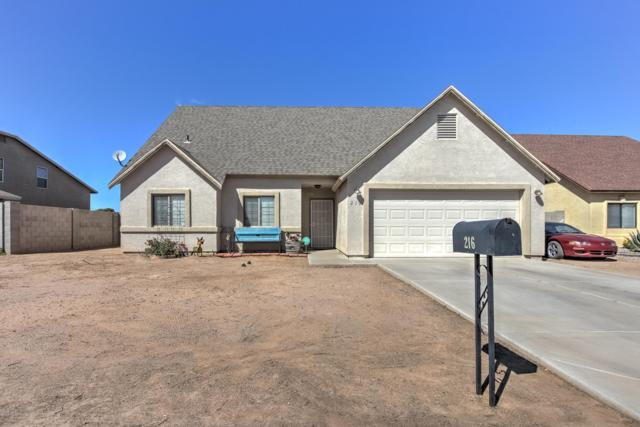 216 W Palm Court, Coolidge, AZ 85128 (MLS #5901237) :: Kortright Group - West USA Realty