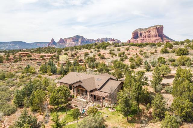 15 Canyon Ridge Trail, Sedona, AZ 86351 (MLS #5903147) :: CC & Co. Real Estate Team