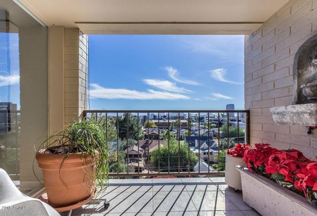 349 E Thomas Road E501, Phoenix, AZ 85012 (MLS #5918381) :: Homehelper Consultants