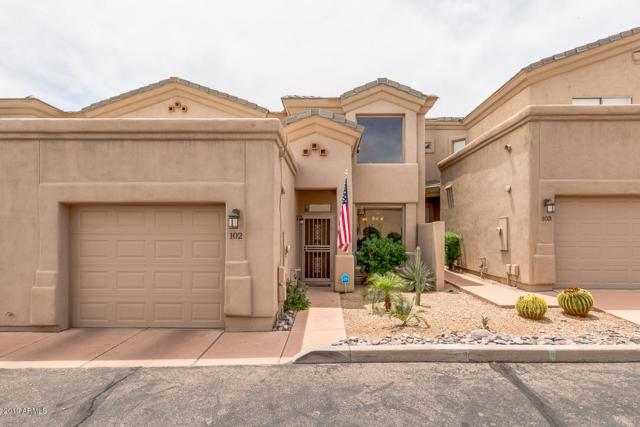 11022 N Indigo Drive #102, Fountain Hills, AZ 85268 (MLS #5928905) :: Brett Tanner Home Selling Team