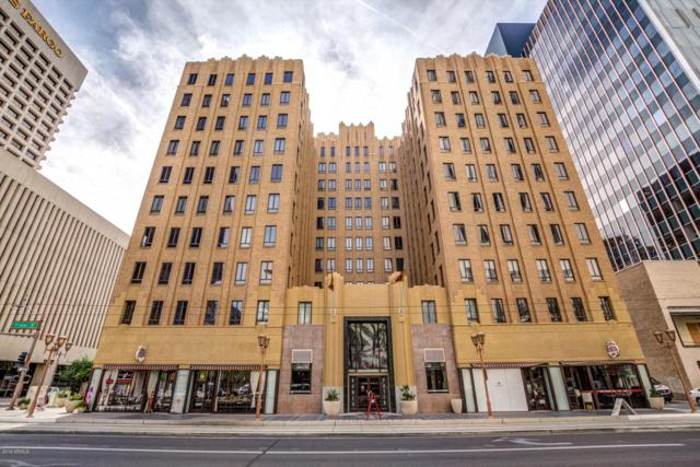114 W Adams Street #310, Phoenix, AZ 85003 (MLS #5929501) :: The W Group
