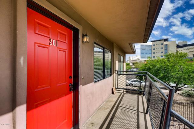 310 W Earll Drive #201, Phoenix, AZ 85013 (MLS #5930050) :: Team Wilson Real Estate