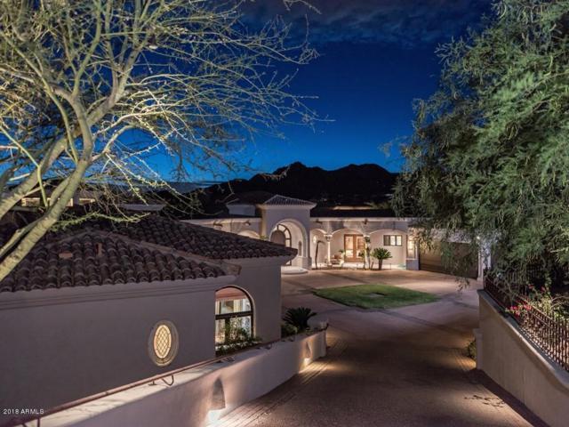 6060 N Paradise View Drive, Paradise Valley, AZ 85253 (MLS #5931336) :: CC & Co. Real Estate Team