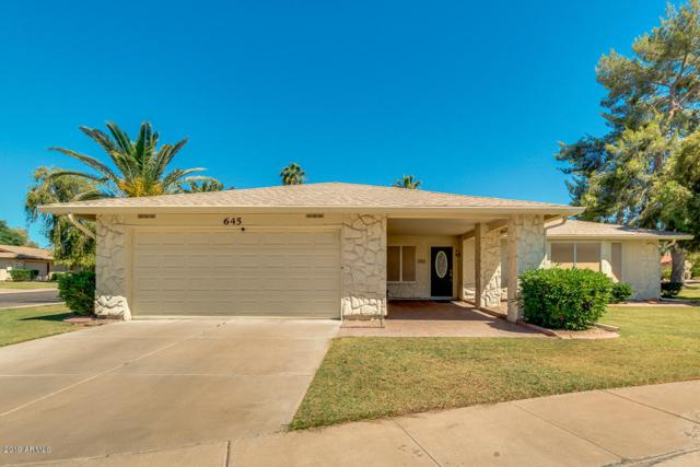 645 Leisure World, Mesa, AZ 85206 (MLS #5931532) :: HOMM