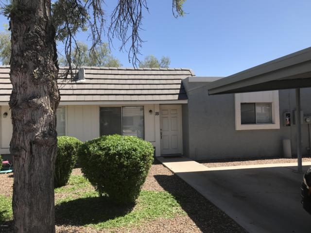 1050 S Stapley Drive #55, Mesa, AZ 85204 (MLS #5934039) :: The Laughton Team