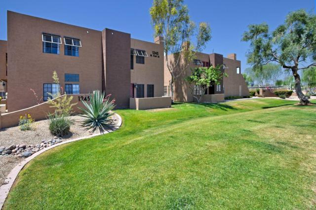 1245 W 1ST Street #106, Tempe, AZ 85281 (MLS #5937764) :: CC & Co. Real Estate Team