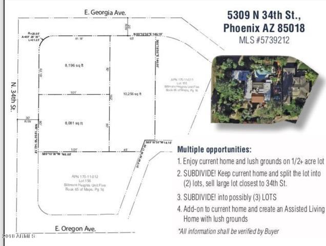 5309 N 34TH Street, Phoenix, AZ 85018 (MLS #5941302) :: The Pete Dijkstra Team