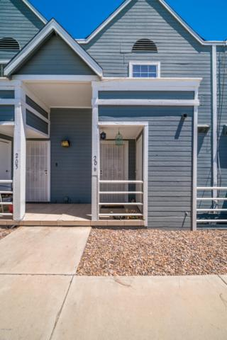 1505 N Center Street #206, Mesa, AZ 85201 (MLS #5943910) :: Homehelper Consultants