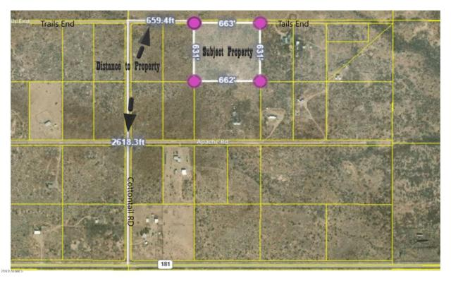 TBD 10AC E Trails End, Pearce, AZ 85625 (MLS #5946383) :: Openshaw Real Estate Group in partnership with The Jesse Herfel Real Estate Group