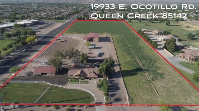 19917 E Ocotillo Road, Queen Creek, AZ 85142 (MLS #5949495) :: Openshaw Real Estate Group in partnership with The Jesse Herfel Real Estate Group