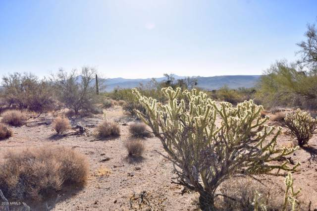40 Acres Coyote Wells Road, Wikieup, AZ 85360 (MLS #5954893) :: Yost Realty Group at RE/MAX Casa Grande