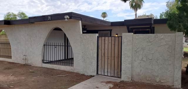 720 S Dobson Road #71, Mesa, AZ 85202 (MLS #5958096) :: Riddle Realty Group - Keller Williams Arizona Realty