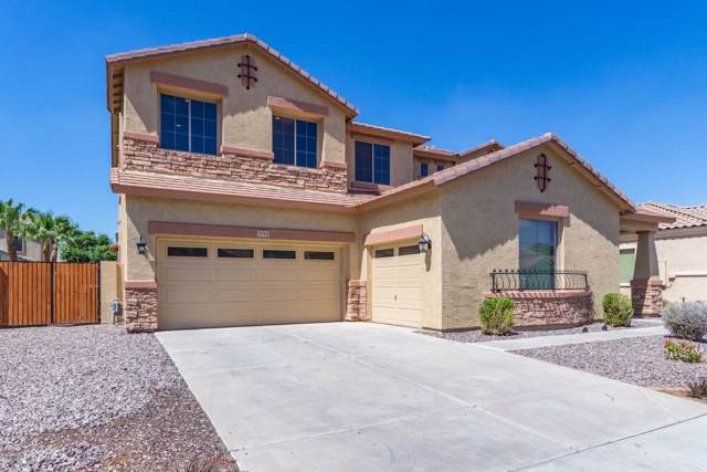 2452 E Aloe Place, Chandler, AZ 85286 (MLS #5960001) :: Riddle Realty Group - Keller Williams Arizona Realty