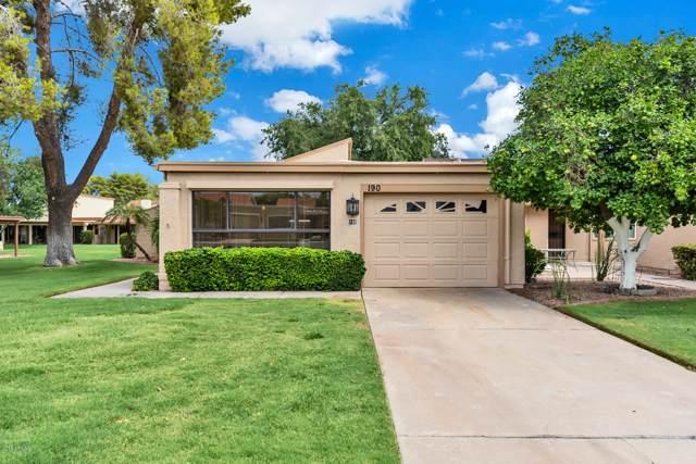 190 Leisure World, Mesa, AZ 85206 (MLS #5960007) :: Riddle Realty Group - Keller Williams Arizona Realty