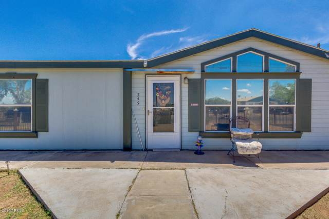349 W Taylor Avenue, Coolidge, AZ 85128 (MLS #5960060) :: Revelation Real Estate