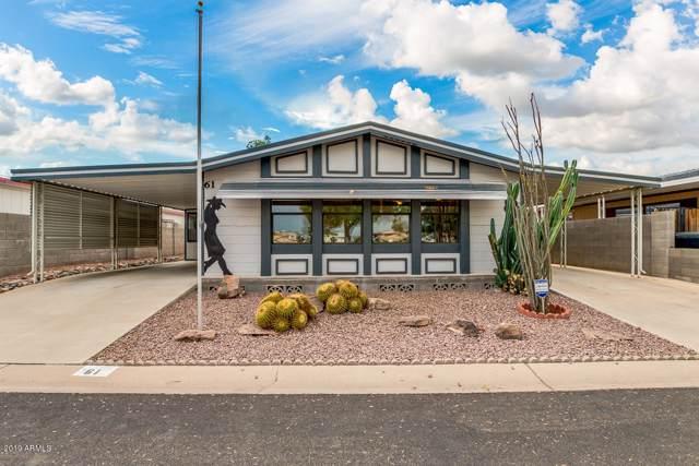 8601 N 103RD Avenue #61, Peoria, AZ 85345 (MLS #5961209) :: Riddle Realty Group - Keller Williams Arizona Realty