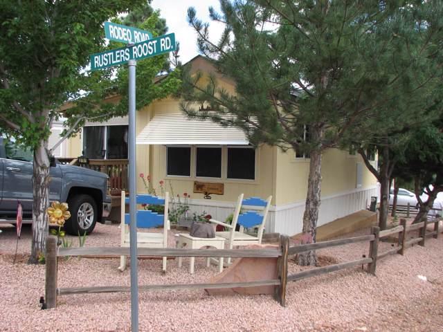 2701 Rustlers Roost, Overgaard, AZ 85933 (MLS #5964080) :: Riddle Realty Group - Keller Williams Arizona Realty