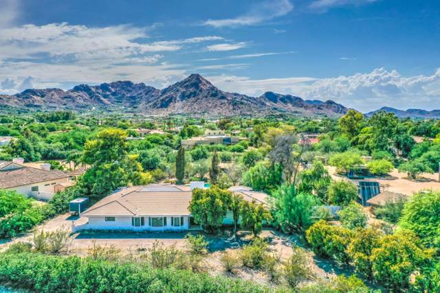 7808 N Calle Caballeros, Paradise Valley, AZ 85253 (MLS #5965850) :: Kepple Real Estate Group