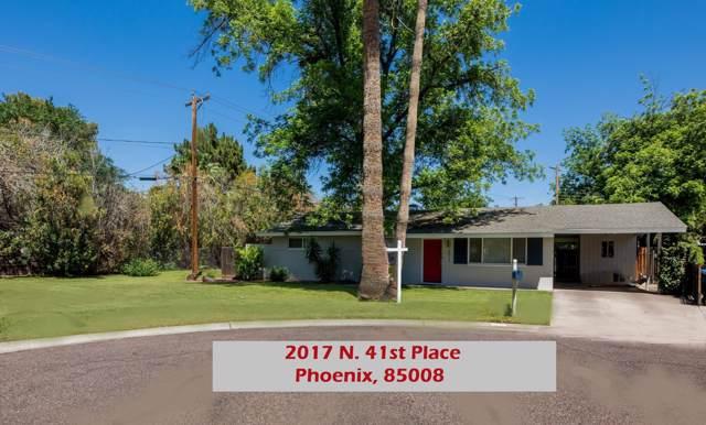 2017 N 41ST Place, Phoenix, AZ 85008 (MLS #5966150) :: Team Wilson Real Estate