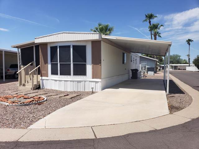 201 S Greenfield Road #302, Mesa, AZ 85206 (MLS #5966697) :: Openshaw Real Estate Group in partnership with The Jesse Herfel Real Estate Group