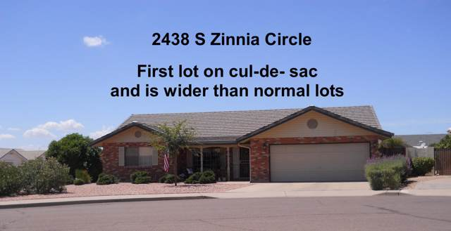 2438 S Zinnia Circle, Mesa, AZ 85209 (MLS #5966995) :: Lifestyle Partners Team
