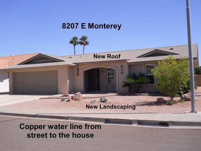 8207 E Monterey Avenue, Mesa, AZ 85209 (MLS #5967029) :: The Pete Dijkstra Team