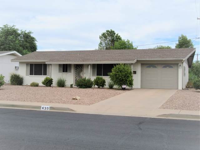 439 N 56TH Street, Mesa, AZ 85205 (MLS #5967364) :: Occasio Realty