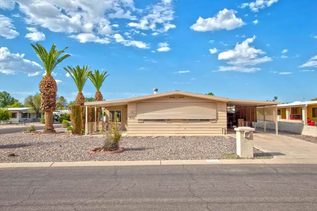 9101 E Country Club Drive, Sun Lakes, AZ 85248 (MLS #5967737) :: CC & Co. Real Estate Team